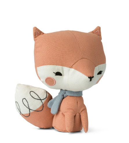 Pink Picca Loulou Fox -  presented in special story gift box