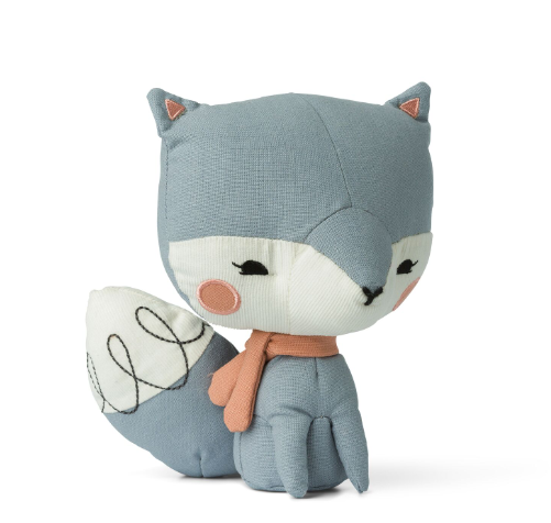 Blue Picca Loulou Fox -  presented in special story gift box