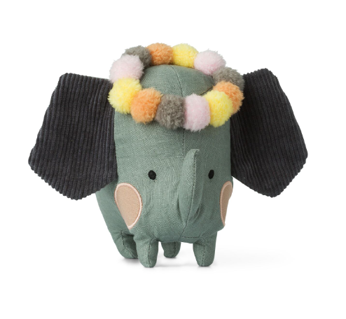 Elephant with Head Garland Presented in Special Story Gift Box