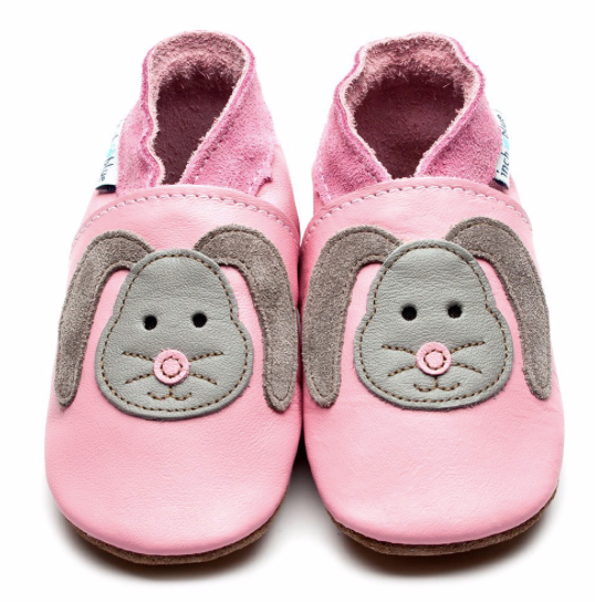 Rag Bunny Pink Shoes in sizes -  M, L, XL | Inch Blue - Just Add Milk