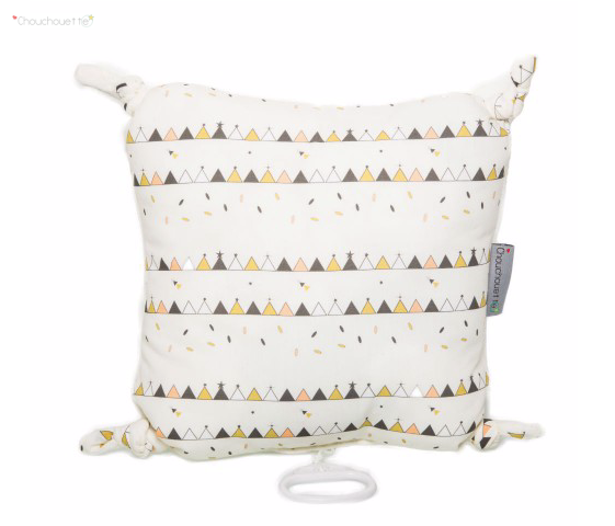 Tipi Print - Musical Cushion - Just Add Milk