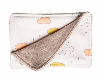 Baby Face Wipes- Cloud Print - Just Add Milk