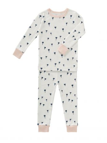 Organic Cotton Toddler Pyjamas - Tulip Print in Size 12-18m & 18-24m:  Fresk - Just Add Milk