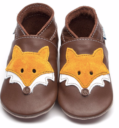 Mr Fox Chocolate Shoes - XL | Inch Blue - Just Add Milk