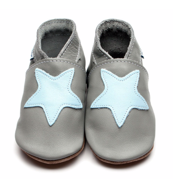 Starry Grey/Baby Blue Shoes  | Inch Blue - Just Add Milk