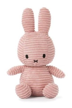 Miffy Soft Toy - Pink Corduroy - Just Add Milk