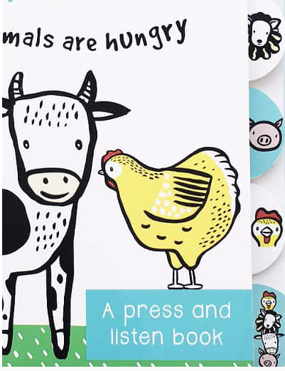 Moo, Cluck, Baa! - Sound Book  | Wee Gallery - Just Add Milk