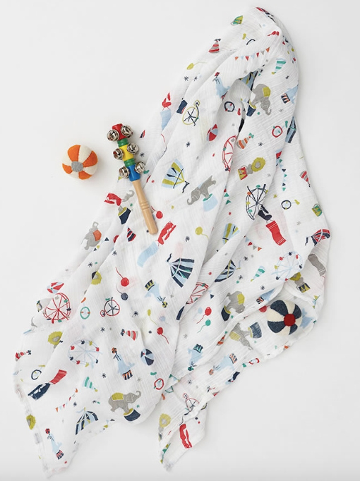 Big Top Swaddle | Pehr - Just Add Milk