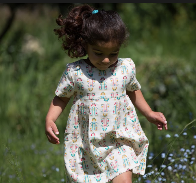 Festival Dancers Summer Days Dress | Little Green Radicals - Just Add Milk