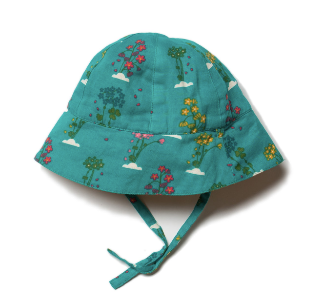 Spring Bloom Reversible Sunhat 1-3 Years - Little Green Radicals