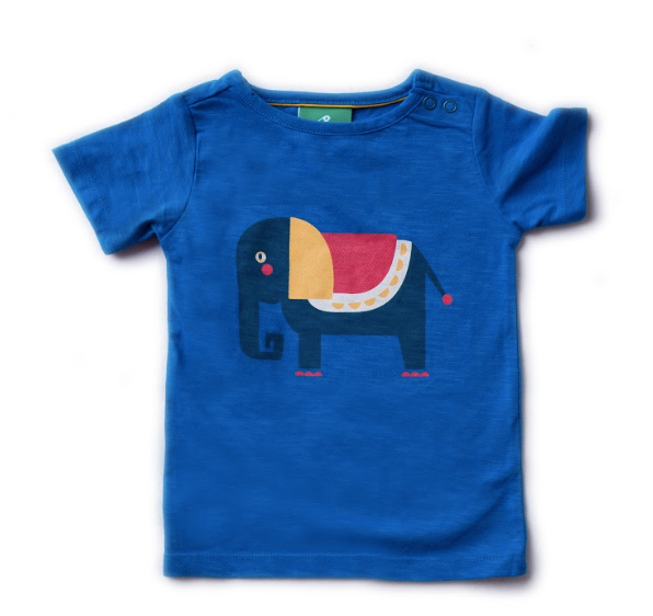 Elephant Light As Air Tee | Little Green Radicals - Just Add Milk