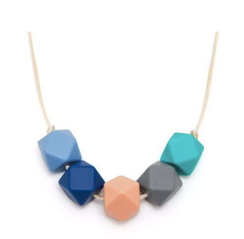 Lara & Ollie Teething Necklace - Lily - Just Add Milk