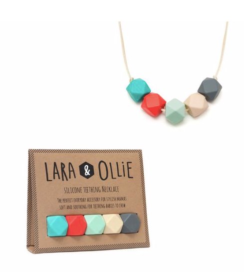 Lara & Ollie Teething Necklace - Isla - Just Add Milk