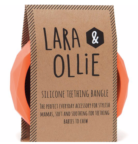 Lara & Ollie Bangle - Apricot - Just Add Milk
