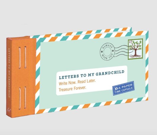 Letters To My Grandchild book - Just Add Milk