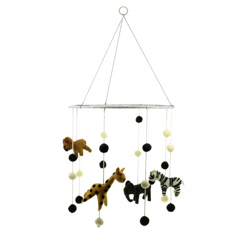 Jungle Animal Mobile | Fiona Walker England - Just Add Milk