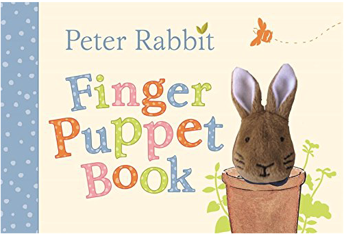Peter Rabbit - Finger Puppet Book - Just Add Milk