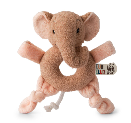 WWF- EBU THE ELEPHANT PINK GRABBER