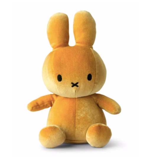 NEW - Yellow Velvet Miffy