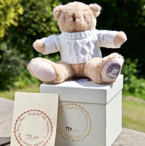 NEW Collectable Baby Darcy Bear (limited edition) | Ragtales - Just Add Milk