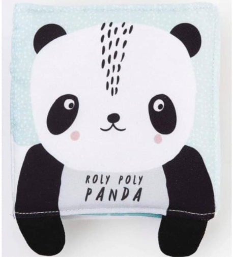Wee Gallery Baby's first soft book | Roly-poly panda