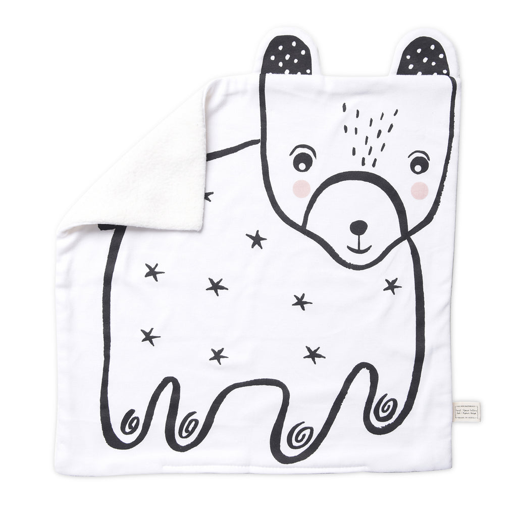 Bear Organic Snuggle Blanket  | Wee Gallery - Just Add Milk