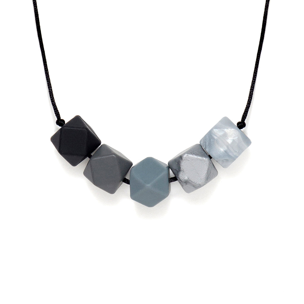 Lara & Ollie Zara Teething Necklace - Just Add Milk