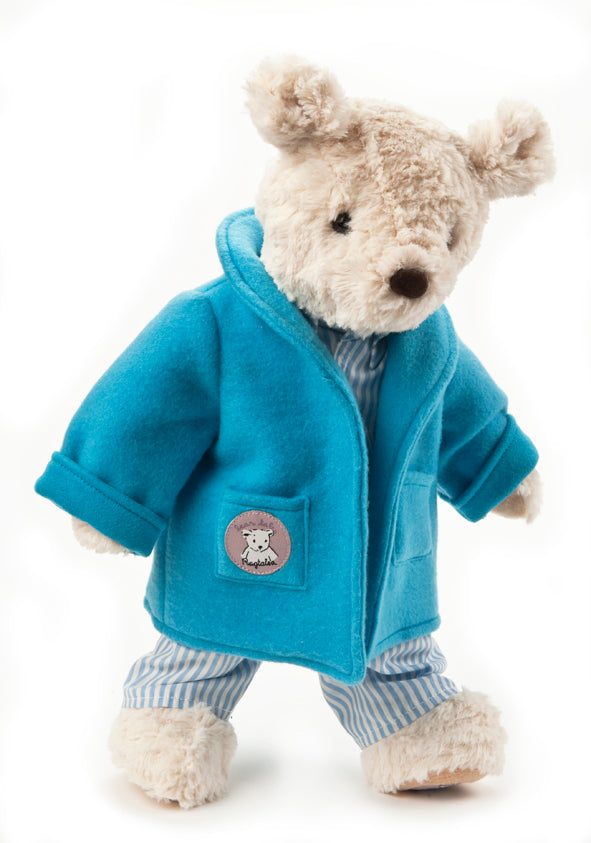 Blue PJ's and Dressing Gown for Darcy Bear