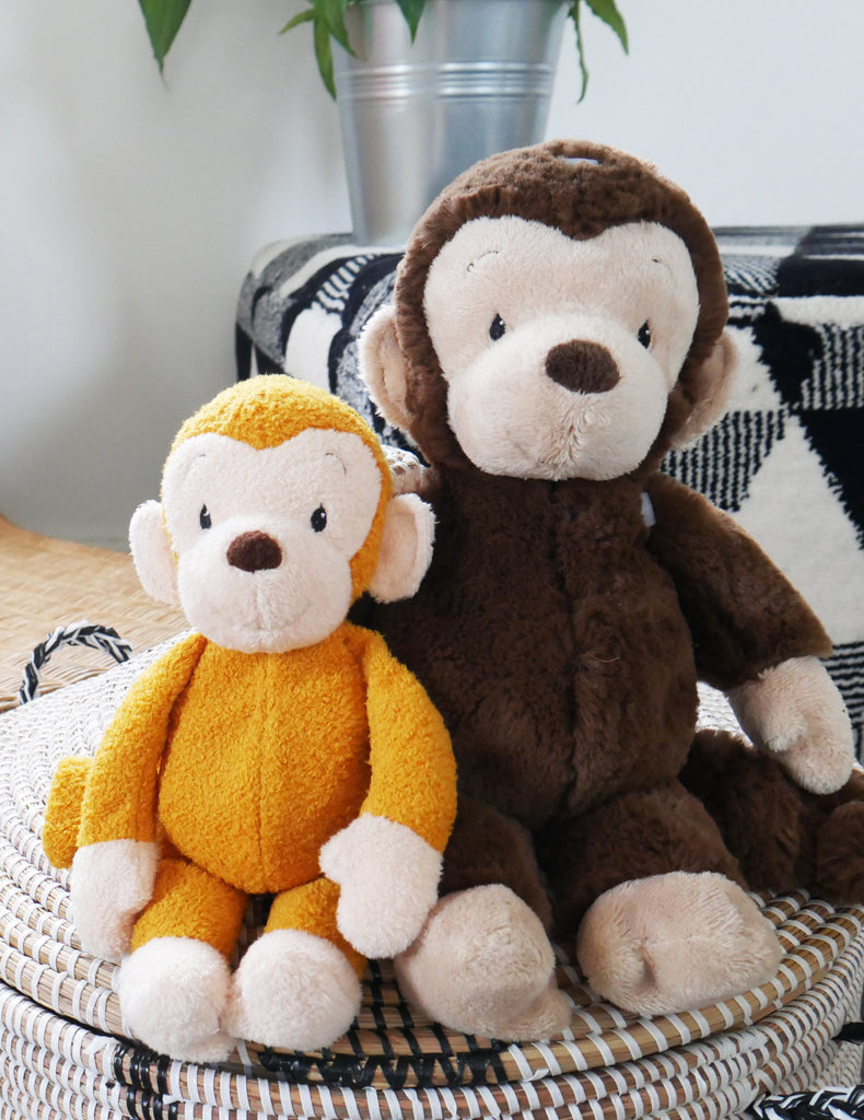 WWF | Mago the Brown Monkey - Squeaker Soft Toy