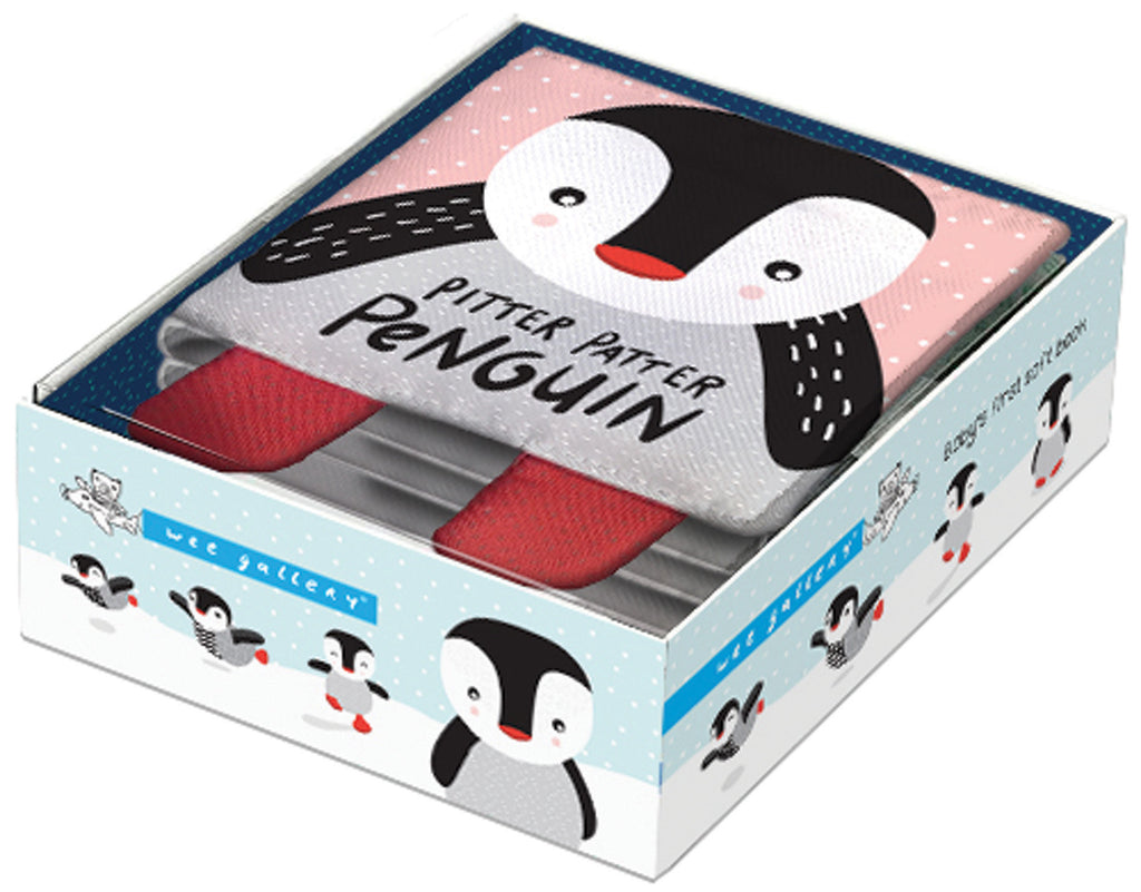 Pitter Patter Penguin- Soft Book | Wee Gallery