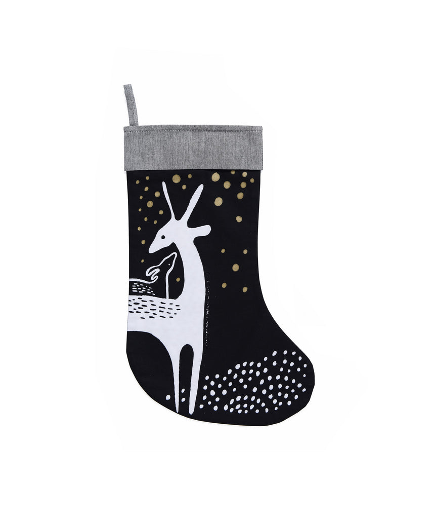 Deer Holiday Stocking | Wee Gallery