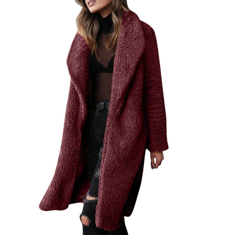 Artificial Wool Coat