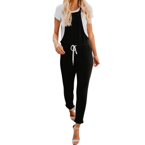 Casual Tied Waisted Jumpsuit