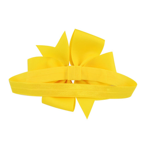 "Image of 4.5"" Pinwheel Bow Headband"