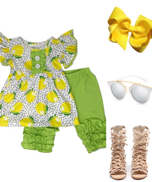Lemon Lime Short Outfit