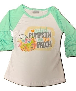 Cutest Pumpkin Raglan