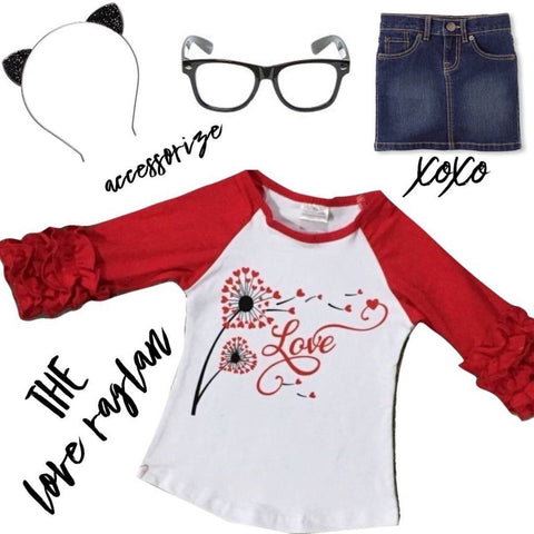 The LOVE Raglan