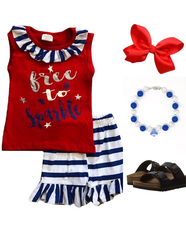 Free To Sparkle 4th Outfit