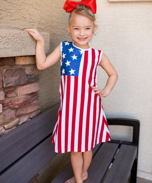 4th of July Flag Dress