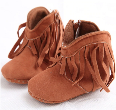 Baby Fringe Boots - Lots Of Colors