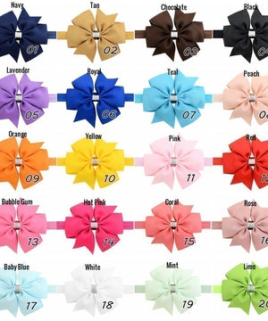 "4.5"" Pinwheel Bow Headband"