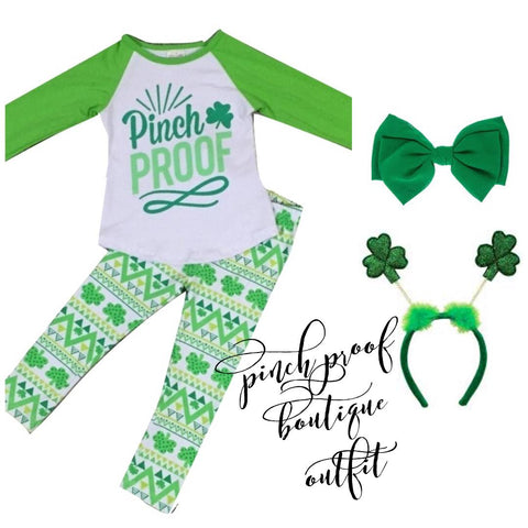 Pinch Proof Ruffle Boutique Outfit