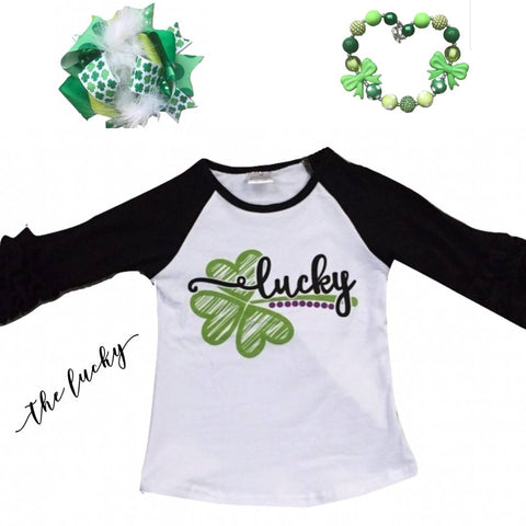 The Lucky Raglan