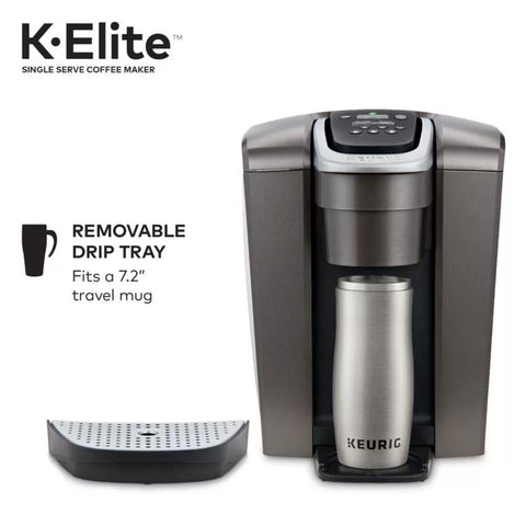 Keurig K-Elite, Single Serve K-Cup Pod Coffee Maker, Iced Coffee Setting