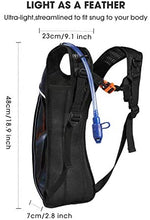 Load image into Gallery viewer, Hydration Backpack with 2L Hydration Bladder