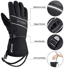 Load image into Gallery viewer, Ski Gloves Waterproof Winter Warm Gloves