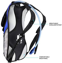 Load image into Gallery viewer, Hydration Pack with 2L Hydration Bladder