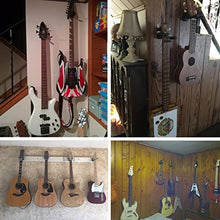 Load image into Gallery viewer, Guitar Wall Hangers Stands 2 Pack