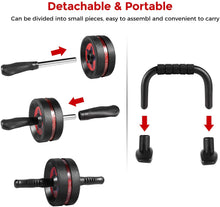 Load image into Gallery viewer, Ab Roller Wheel for Abs Workout