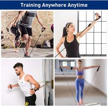 Load image into Gallery viewer, Exercise Resistance Bands Set 11 pcs